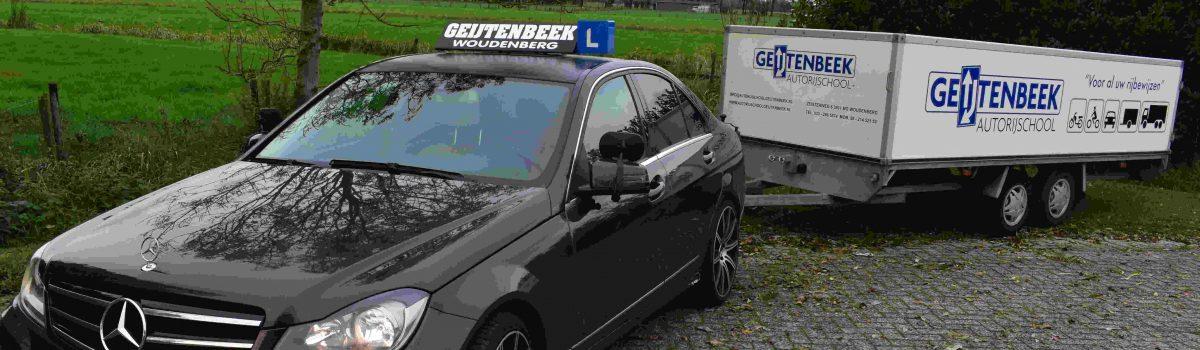 Aanhangwagen rijles autorijschool Geijtenbeek
