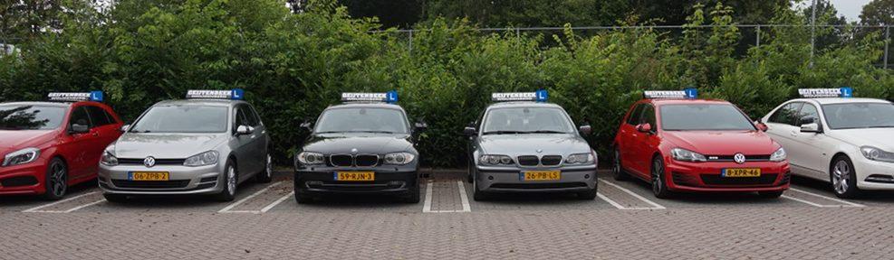 Lesauto's van Autorijschool Geijtenbeek